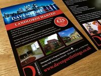 Have Your Property Let & Fully Managed For Just £25 Per Month