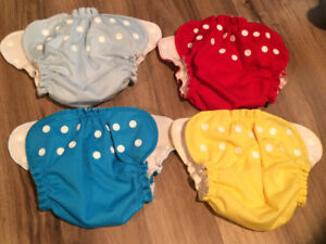 Cloth diapers & Applecheeks diaper covers