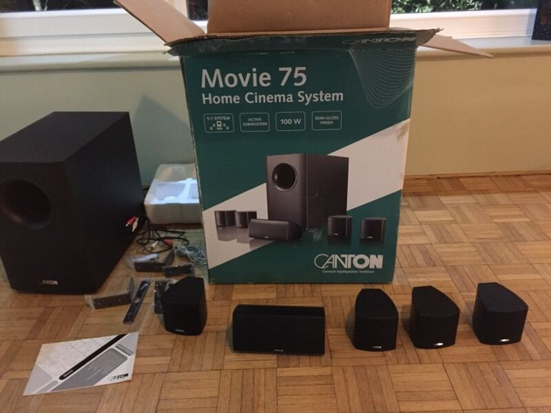 Canton Movie 75 5 1 Surround Sound Speakers With Subwoofer
