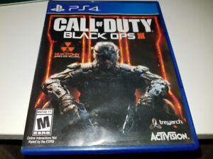 Call of Duty Black Ops III pour ps4