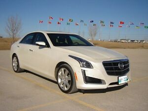 2014 Cadillac CTS  3.6 L /AWD/Leather/Nav/Sunroof - Premium Trim