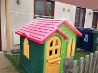 Play house with little tikes kitchen
