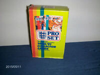 UNOPENED BOX OF PRO SET 1990/1991 SOCCER CARDS-48 PACKAGES!