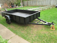 5 feet by 8.5 feet Utility Trailer For Sale