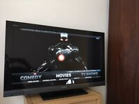 """SONY 40"""" HD LCD TV WITH ANDROID MEDIA BOX"""