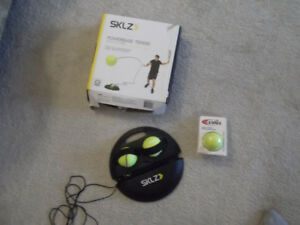 SKLZ PowerBase Tennis Trainer and extra ball