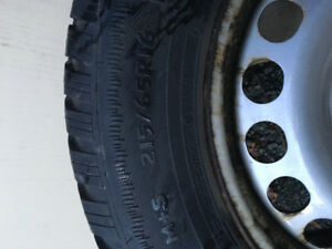 Tires and rims 215/65R16