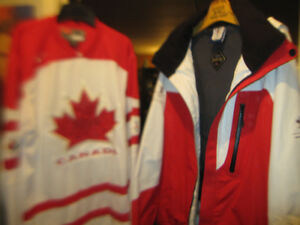 Team Canada 2010 Olympic Jacket Gore Tex Coat And Jersey New