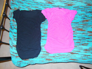 Lot of 14 Womens Black red brown pink dress top med large $135