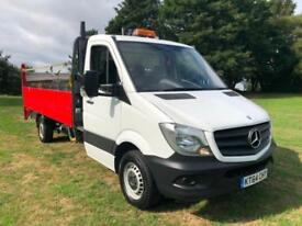 Mercedes Sprinter 313CDI 14ft Dropside With Tail Lift - Low Miles