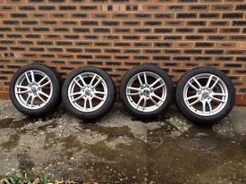 Mazda Mx5 alloy wheels & tyres 16""