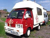 Hijet Camper Campervan Motorhome Romahome not VW T2 T4 T25 T5 Bongo