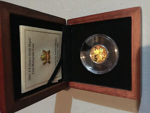 Gold, 9999, 1/4 Ounce, ROYAL CANADIAN MINT, HOLOGRAM, RARE