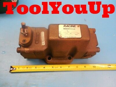 Racine Bosch Fe2 Peah S06h Hydraulic Flow Control Valve Industrial Made In Usa