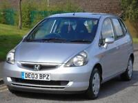 HONDA JAZZ 1.4i-DSI SE,ONLY 77K,2 OWNERS,LONG MOT,LOW TAX AND INSURANCE