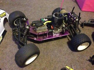 Nitro rc car + loads of spears sale or swap