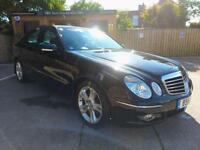 2008 MERCEDES-BENZ E320 3.0CDI 7G-TRONIC CDI AVANTGARDE IN BLACK