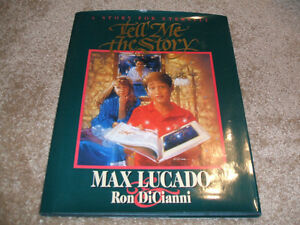 Max Lucado-Tell Me The Story-HC with DJ