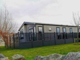 Stunning Lodge For Sale with Glass Decking 2021 site fees included call Jack