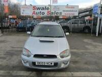 2003 SUBARU IMPREZA 2.0 WRX TURBO 5 DOOR 224 BHP