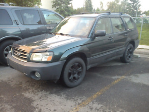 2003 Subaru Forester AWD NEW TIRES