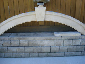 DECORATIVE ARCH SAND STONE- MAKE YOUR ENTRANCE STAND OUT.