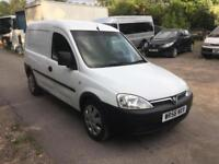 2007 Vauxhall/Opel Combo van 1.3CDTi 16v only 53k px to clear Bargain