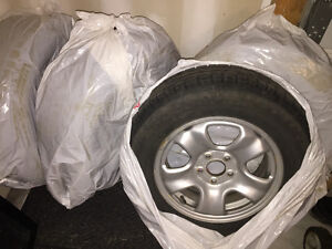 BFGoodrich Winter Tires with Rims