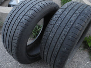 P255/50R19 Quality pair of Michelin Latitude Tour HP tires!