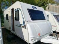 Caravelair Antares 455 2017 Lightweight Fixed Bed 4 Berth Touring Caravan