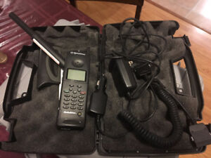 Global Star Satellite Phone with Pelican Case/Hands-Free Car Kit