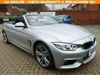 2014 14 BMW 4 SERIES 2.0 428I M SPORT 2D 242 BHP