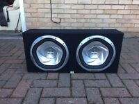 Subs amp and door speakers and all wires