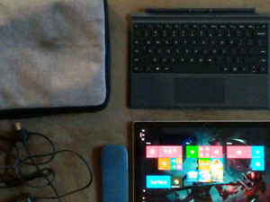 Microsoft Surface with all accessories