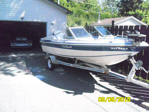 thundercraft 17 '  120 force jonhson outboard