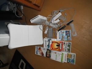 Wii games controllers and Wii fit