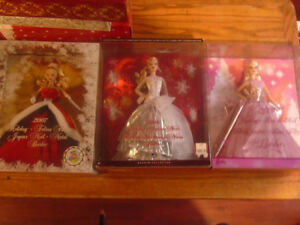 Holiday Collectible Barbies
