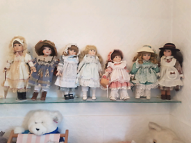 15 China and vintage doll's mixed selection of zasan doll and other
