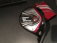 For sale or swap - Callaway Great Big Bertha 3 wood (mint condition)