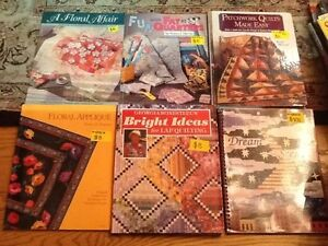 QUILTING BOOKS/MAGs/Doll Clothes/Stuffed toys/Crafts West Island Greater Montréal image 1