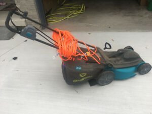 Corded electric lawn mower for sale