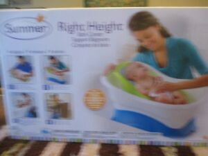 Summer Right Height baby bath from bed bath and beyond