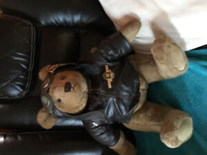 Vintage 1986 aviator bear
