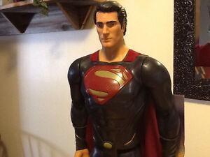 "31"" SUPERMAN FIGURE FROM MAN OF STEEL London Ontario image 2"