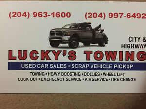 Tow truck service 204 963 1600