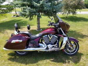 2011 Victory Cross Country motorcycle