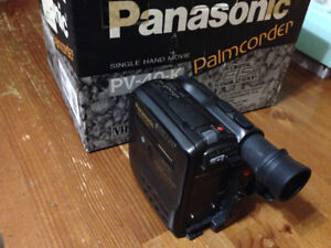 Made in Japan panasonic vhs-c old school camcorder