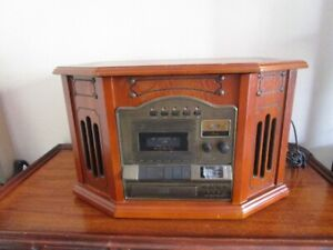 Victoria Tune Writer Winyl Player CD, Radio, Cassete