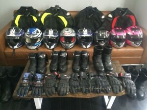 MOTORCYCLE GEAR RENT - M1 M2 TEST COURSE
