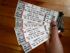 Marilyn Manson and Rob Zombie Tickets
